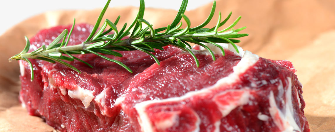 Rindfleisch in Bioqualität
